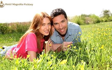 Jarní romantika obohacená o wellness procedury v Hotelu Magnólia ****