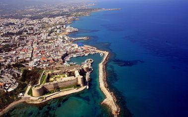 Severní KYPR letecky na 8 dní pro 1 osobu včetně snídaní + možnost výletů, akce SENIOR 50+
