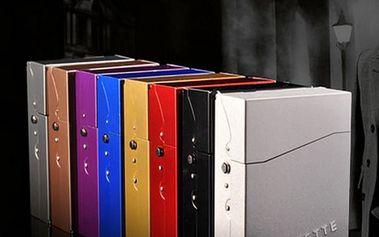 Hliníkové pouzdro pro cigarety - 8 barev