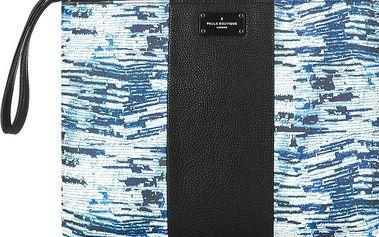 Modro-černé psaníčko se vzorem Paul's Boutique Stephanie