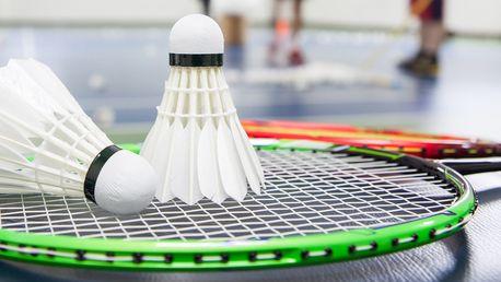 S-badminton včetně zapůjčení raket a míčku