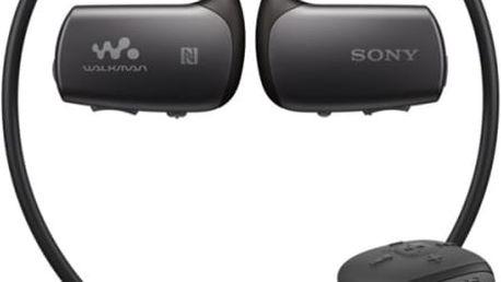 MP3 přehrávač Sony NWZ-WS615B černý
