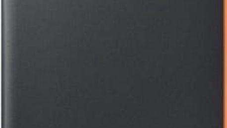 Pouzdro na mobil flipové Samsung Neon Flip pro Galaxy A3 2017 (EF-FA320P) (EF-FA320PBEGWW) černé