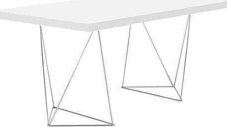 Bílý stůl TemaHome Multi, 180 cm - doprava zdarma!