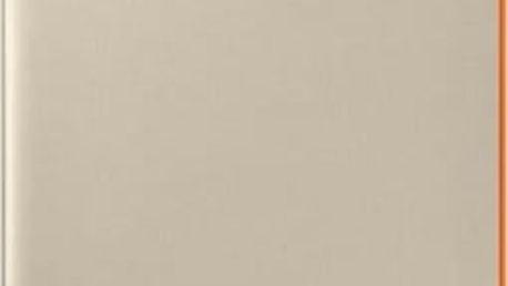 Pouzdro na mobil flipové Samsung Neon Flip pro Galaxy A3 2017 (EF-FA320P) (EF-FA320PFEGWW) zlaté