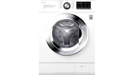 Automatická pračka se sušičkou LG F84G6TDM2N bílá + Doprava zdarma