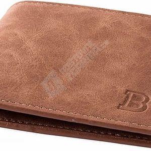 Klasická pánská peněženka v hnědé barvě