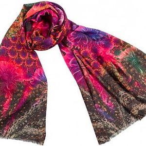 Vlněný šátek Shirin Sehan Ekaterina