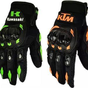 Závodní rukavice s ochranou kloubů
