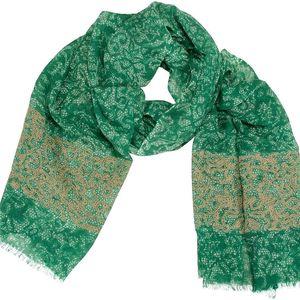 Vlněný šátek Shirin Sehan Amelia Grass