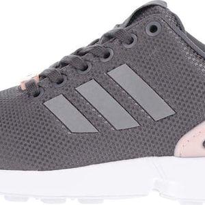 Růžovo-šedé dámské tenisky adidas Originals Flux