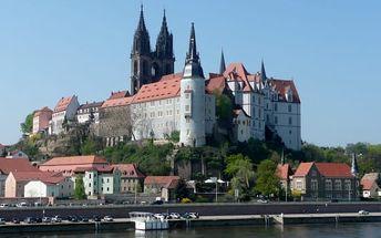 Míšeň: porcelánka, Albrechtsburg: 1denní výlet z Prahy pro 1 os. + možná plavba do Drážďan