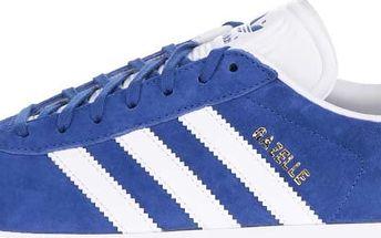Modré pánské semišové tenisky adidas Originals Gazelle