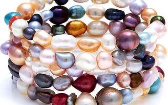 Barevný perlový náramek GemSeller Ciliata