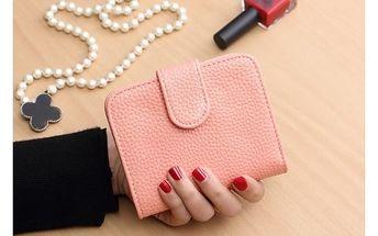 Módní dámská peněženka z umělé kůže - různé barvy