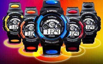 COOl BOSS S-SPORT LED sportovní hodinky: na výběr z 5 barev + poštovné zdarma