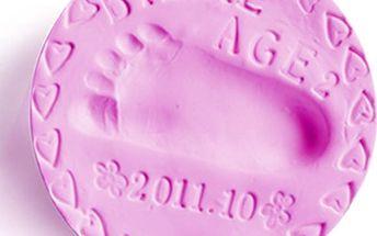 Hmota k vytvoření dětského otisku - 5 barev