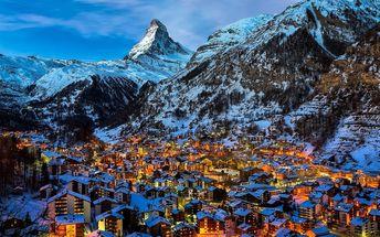 Švýcarsko: 3denní letní zájezd pro 1 osobu k hoře Matterhorn s dopravou z Prahy a průvodce