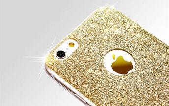 Zadní kryt pro iPhone 6s/6 Plus/5s třpytivý - 5 barev