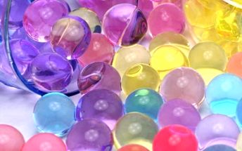 Dekorační hydrogelové kuličky - 5 barev