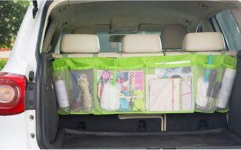 Závěsný organizér do kufru automobilu