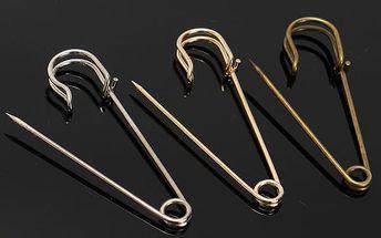 Spínací špendlíky v modernějším provedení - 4 ks