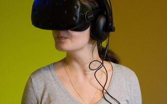 Virtuální realita v délce 30 minut na Praze 9: zahrát si můžou až 2 osoby