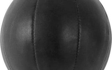 Boxovací míč na elastických gumách - černá barva