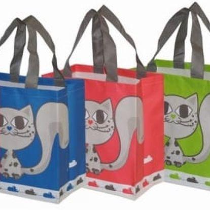 Pevná nákupní taška KitiKat 25 x 15 x 27 cm