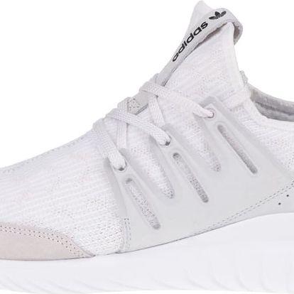 Krémové pánské tenisky se semišovými detaily adidas Originals Tubular Radial