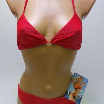 Dámské plavky Primo dvoudílné, červené