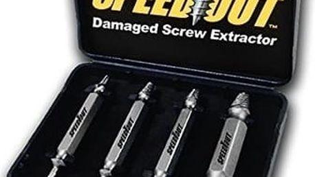 Vytahovač stržených šroubů Speed Out. Se Speed Out problém rychle vyřešíte.