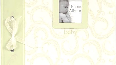 FOTOALBUM zelené Baby Traditional - album na růžky