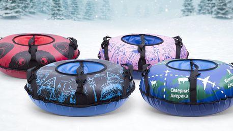 Dětské nafukovací kluzáky pro zimní radovánky
