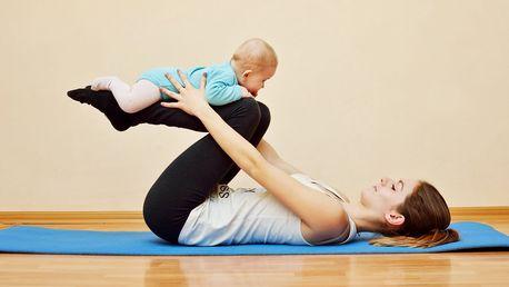 Lekce Babyjógy pro maminky s dětmi 4–12 měsíců