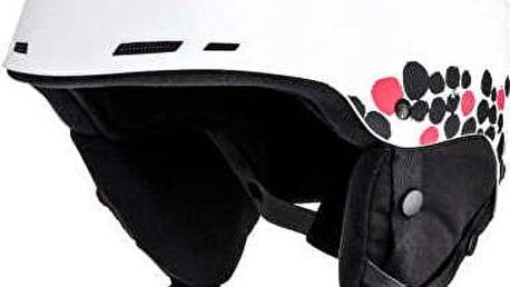 Roxy Lyžařská helma Alley Oop J Hlmt White ERJTL03005-WBB8 54 cm