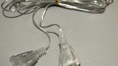 Prodlužovací transparentní kabel - 3 metry