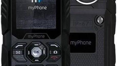 Mobilní telefon myPhone HAMMER PLUS Dual SIM (TELMYHHAPBK) černý Software F-Secure SAFE 6 měsíců pro 3 zařízení (zdarma)