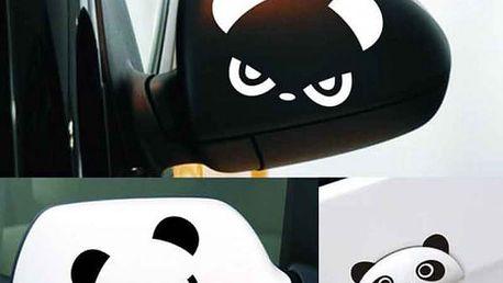 Samolepka na auto v podobě pandy - 2 ks