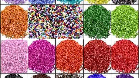 Korálky v mnoha barvách - dodání do 2 dnů