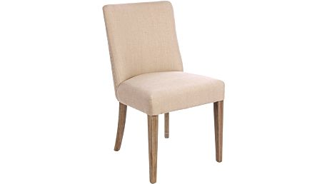 Krémová jídelní židle Bizzotto Schienale - doprava zdarma!
