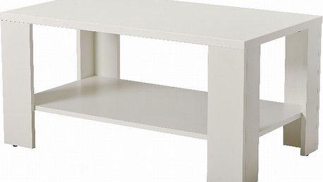 Konferenční stolek UNO, bíláDOPRODEJ