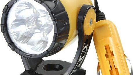 Nouzové reflektorové svítidlo do autozapalovače
