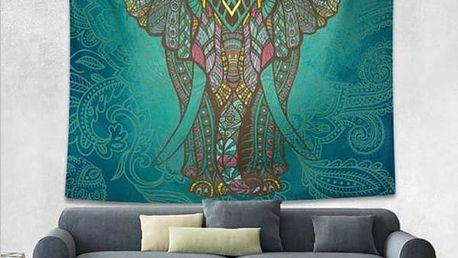 Barevná tapiserie na zeď 150 x 130 cm - 7 motivů
