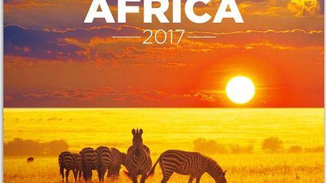 Nástěnný kalendář 2017 - Afrika - dodání do 2 dnů