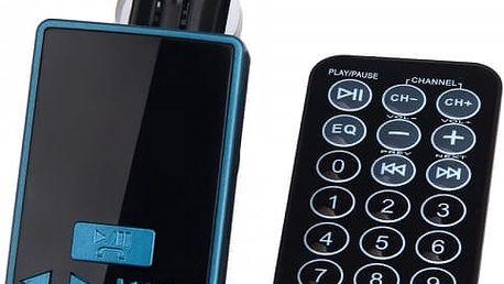 Kvalitní FM/MP3 transmitter do auta s ovladačem