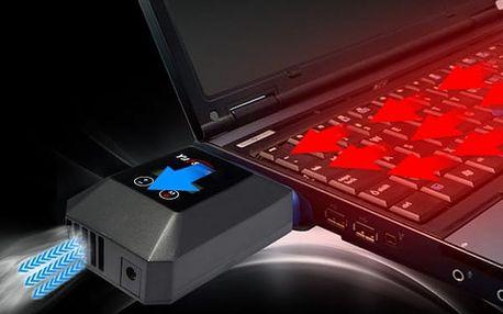Turbo chladič pro přehřívání notebooku