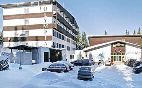3denní pobyt s polopenzí ve Sporthotelu Olympia na Šumavě. Lyžařská a klasická turistika.