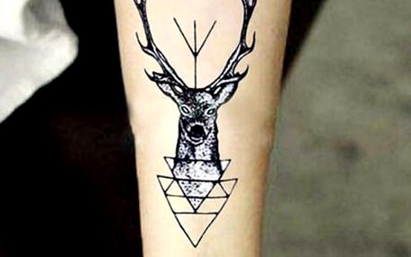 Dočasné tetování na tělo - JELEN