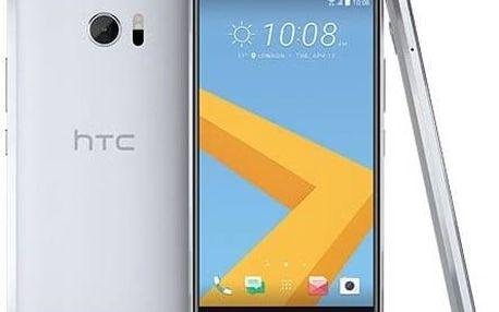 Mobilní telefon HTC 10 - glacier silver (99HAJH017-00) Software F-Secure SAFE 6 měsíců pro 3 zařízení (zdarma) + Doprava zdarma